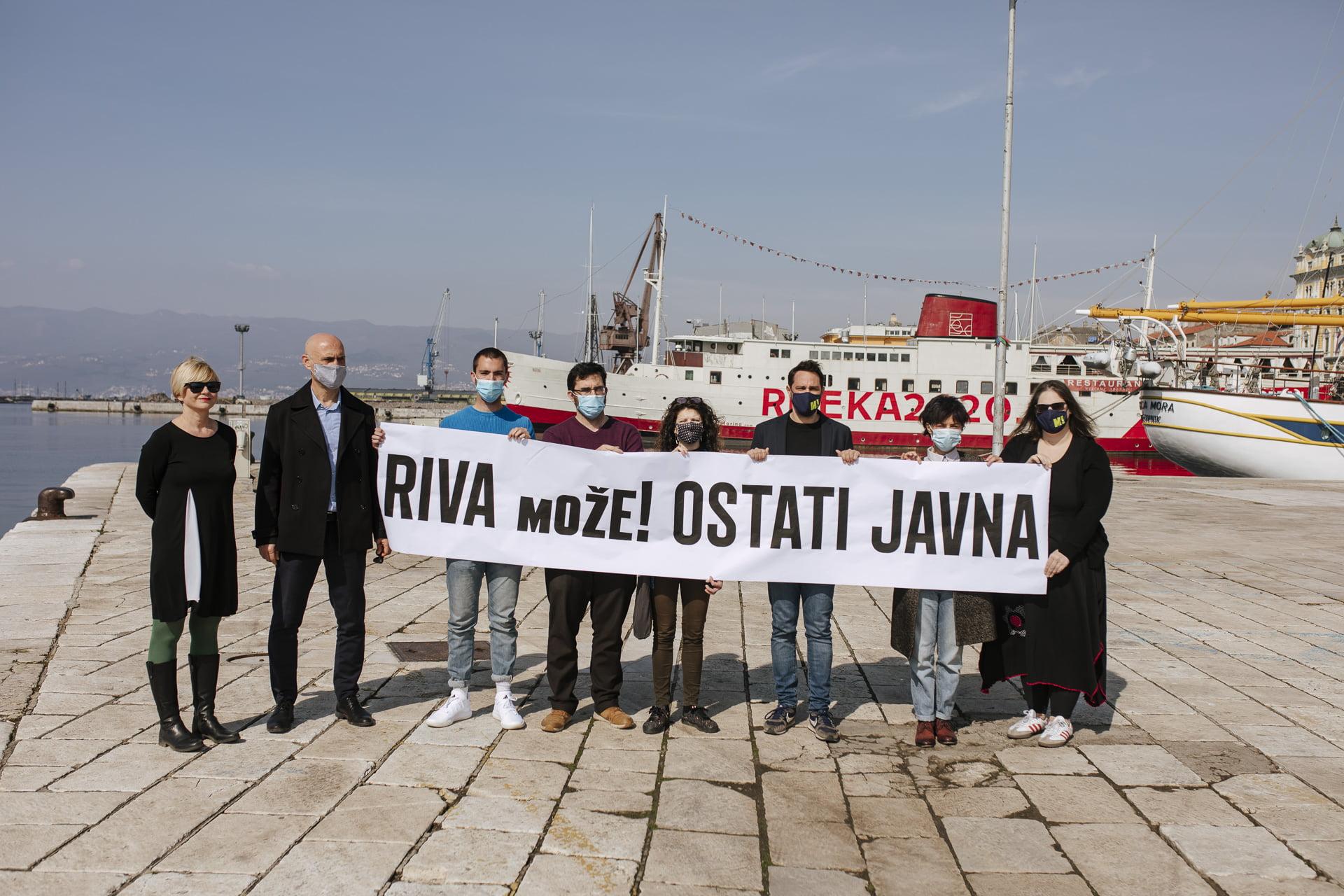 Riva mora ostati dostupna građanima i građankama Rijeke!